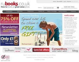 PRIAM's RUBooks site design