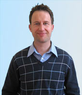 Priams new web designer Steve Maggs