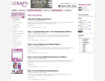 how RU Crafts have used their appease blog